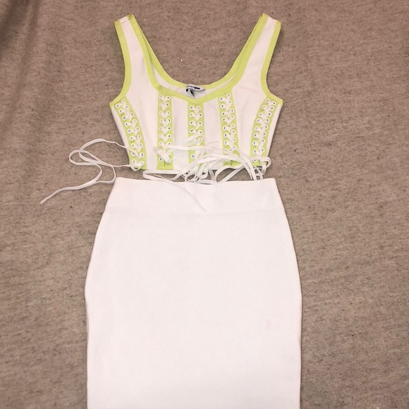 Fashion Nova Tops - Night out Top & pencil skirt set